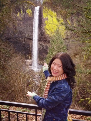 Ta-da! Lautorell Falls